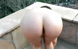 Marvelous ex-girlfriend Jade Nile has painful sex outdoors