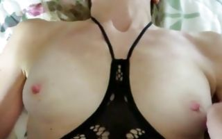 Deep painful anal sex with light-haired ex-girlfriend