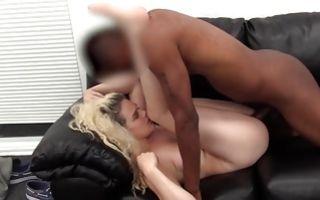 Insane deep interracial sex with nasty blonde Ex-GF Angel