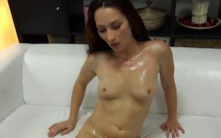 Watch my GF Marcela with big booty has rough deep sex