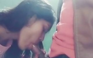 Aroused indian couple having sex on bed and pleasure each other orally