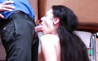 Fabulous Ex-GF Megan Sage has cruel threesome sex