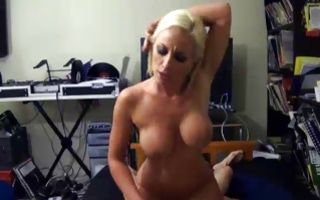 Hot blonde Lexi Swallow gets pussy fucked in homemade porn video