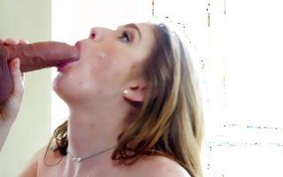 Cute brunette amateur brunette Olivia Lee loves getting fucked nicely