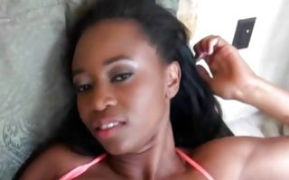 Rough sex with adorable Ebony ex-girlfriend Mya Lushes